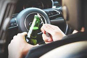 Drinking in a Motor Vehicle in California