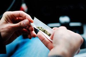 Driving In Possession Of Marijuana - California Vehicle Code 23222(b)