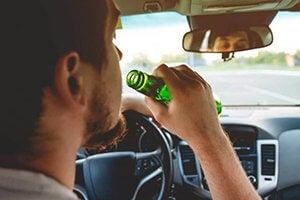 Drinking Alcohol in Vehicle Plea Bargain in California DUI Case