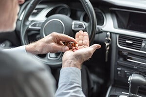 Answering Questions About Prescribed Medication at a DUI Stop