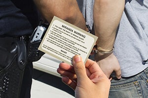 Do Police Have to Read Miranda Rights at a California DUI Arrest?