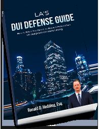 Los Angeles DUI Watson Murder Defense Lawyer