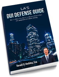 Criminal Defense for DUI in Los Angeles