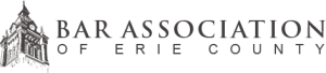Bar Association of Erie County logo
