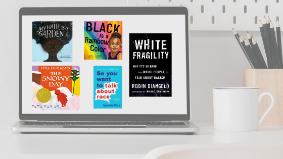 Books about race & anti-racism for kids and adults