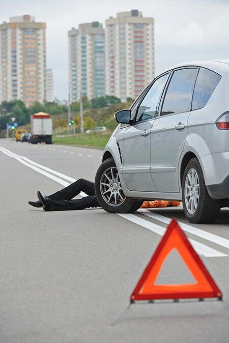 allentown pedestrian hit by car