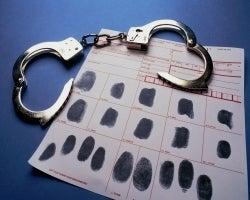 cuffs and fingerprints