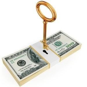 money with key