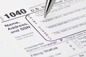 1040 taxes