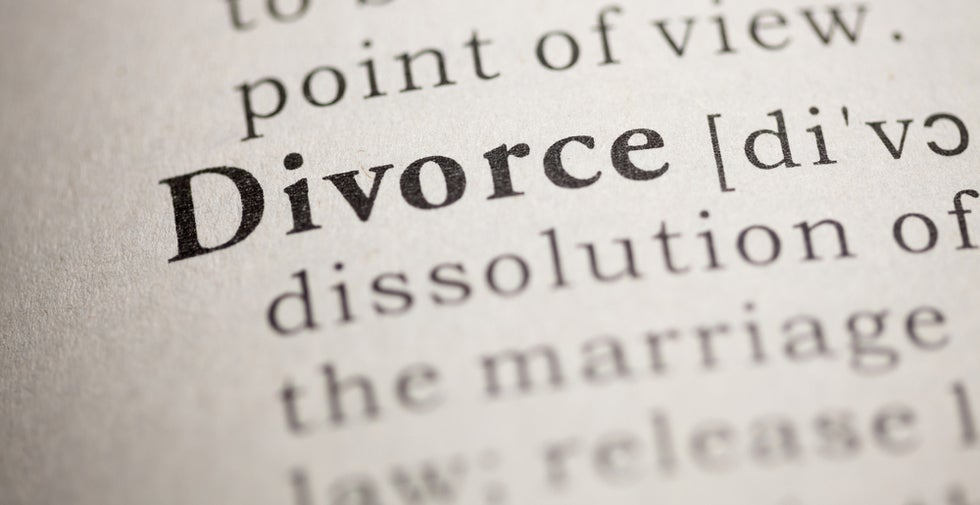 The Word Divorce