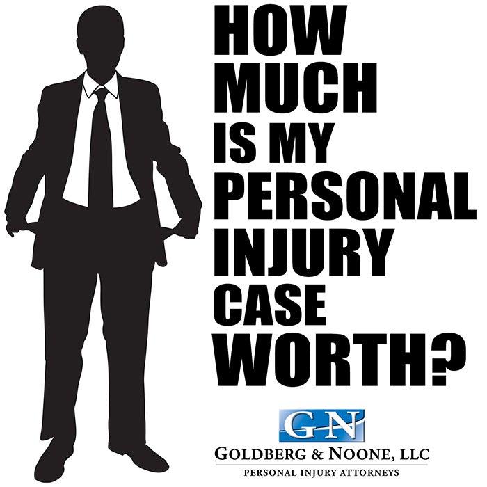 car accident case value