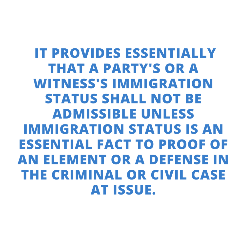 immigration_status_admissible_in_court