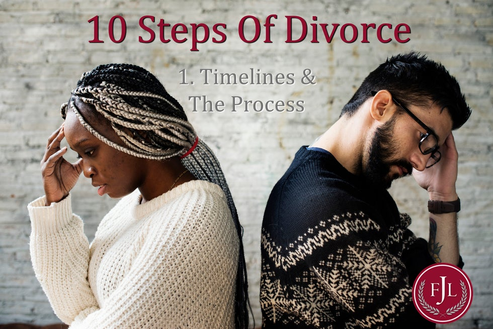 Jerkins Family Law 10 steps to divorce Timelines and the Process