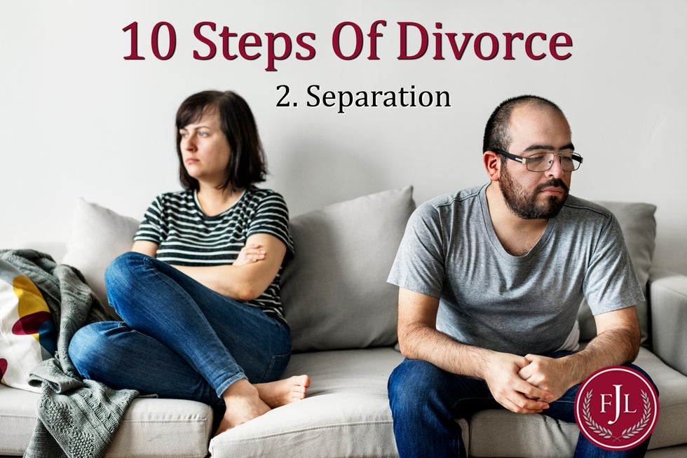 Jerkins Family Law 10 steps to divorce Separation