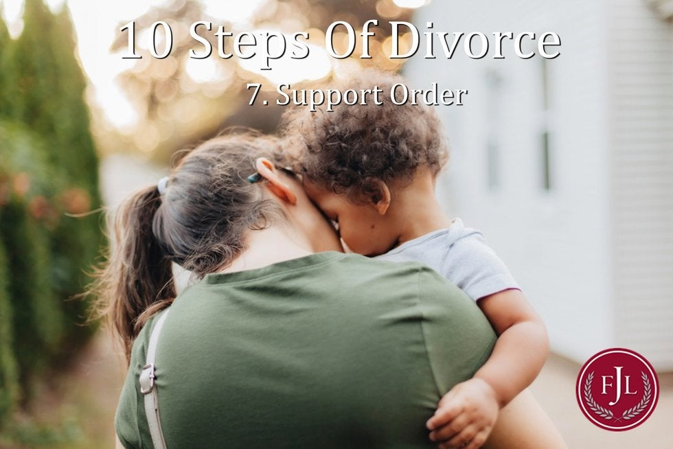 Jerkins Family Law 10 stepsWho can file for a Support Order