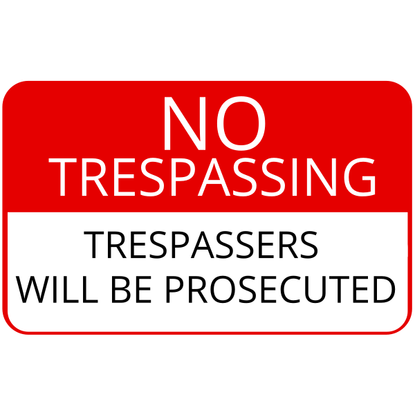 Trespassing - Fairfax County