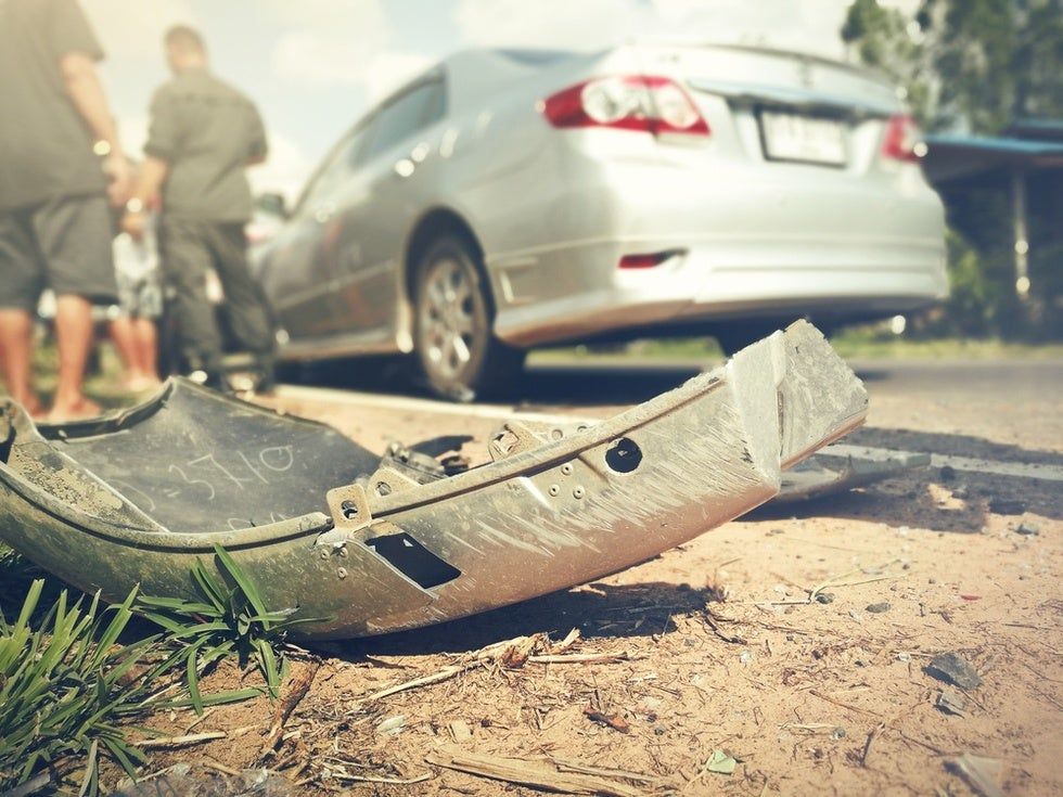 Every three seconds, a car accident occurs.