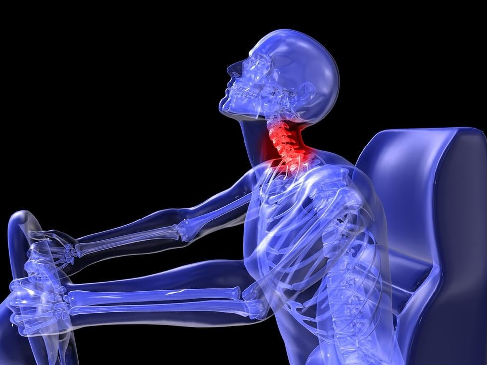 Whiplash is one of the most frequently experienced car accident neck injuries.