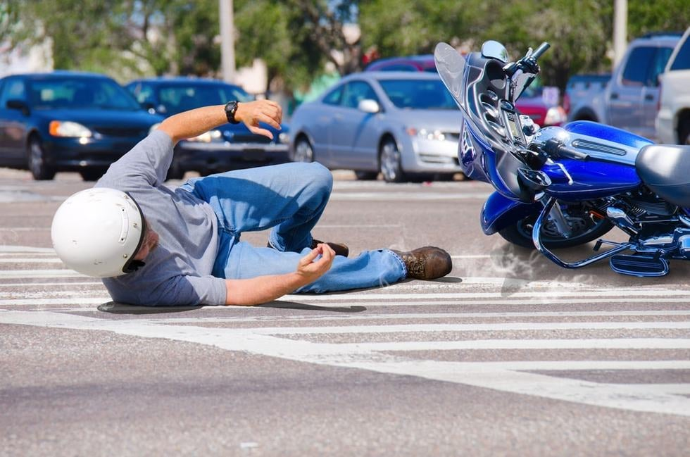 3 Most Common Motorcycle Accident Injuries