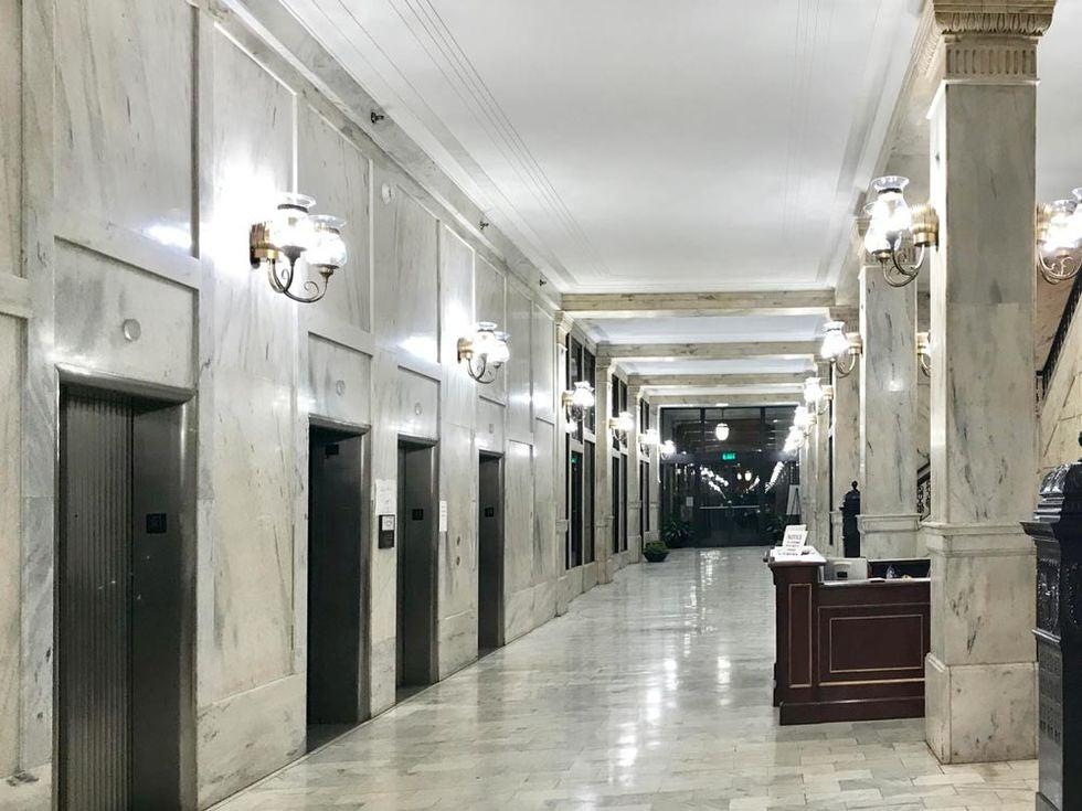 Atlanta's Historic Grant Building (entry lobby)