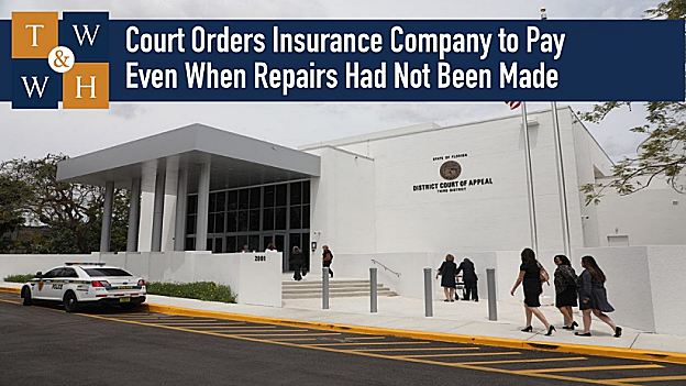 replacement cost value insurance company breached policy