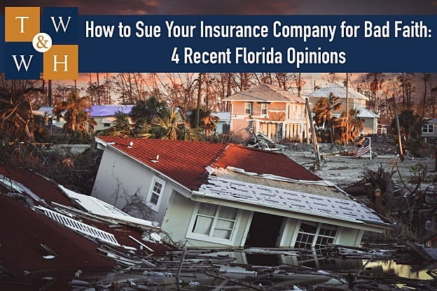 bad faith claims handling wrongful denial of insurance