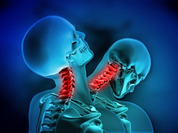 whiplash injury from impact of car accident
