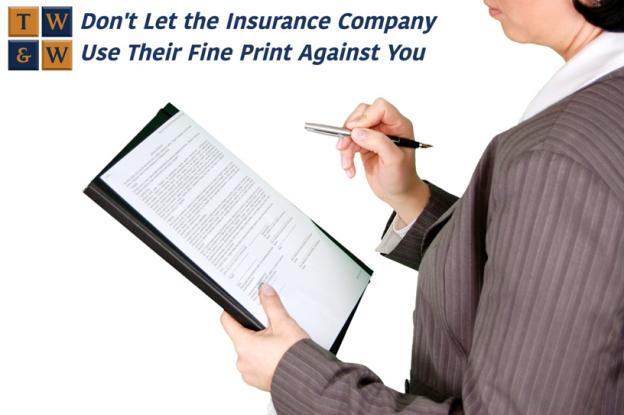 insurance company attorney denial of claim