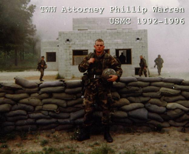 tww attorney phillip warren united states marine corps defective earplugs claims