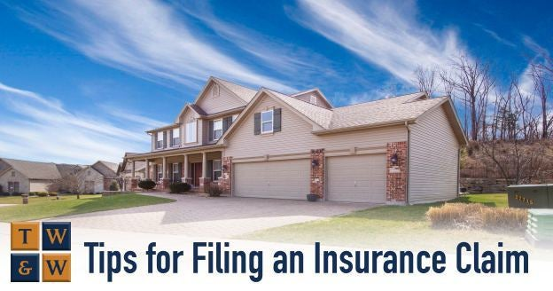 tips for filing or settling an insurance claim after storm damage hurricane michael irma