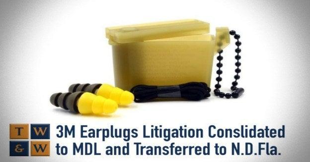 3m earplugs litigation hearing loss defective product