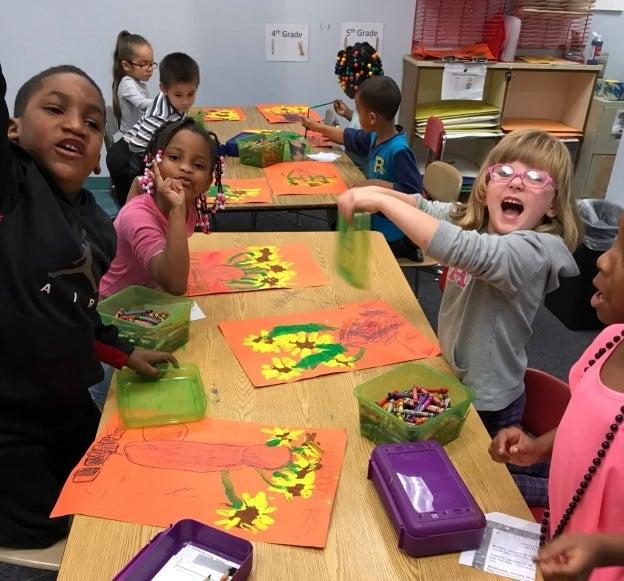 helping art teachers escambia santa rosa county