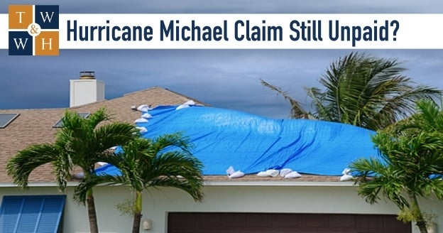 hurricane michael insurance claim delay or denial