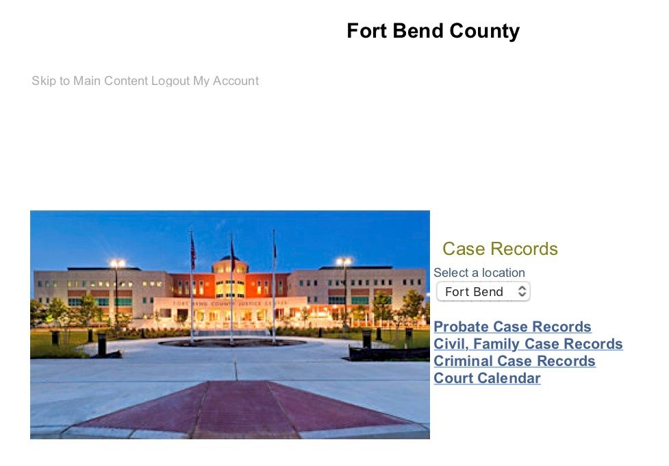 fort bend county, case, bonding