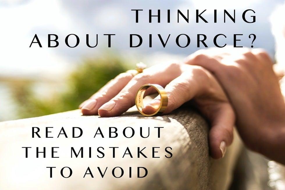Divorce 20Mistakes