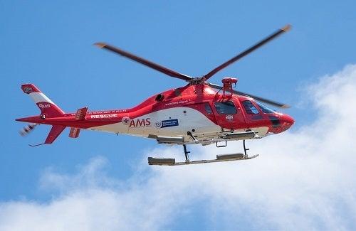Ledyard, CT- Life Star called to Crash at Rt. 214