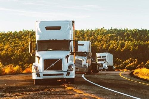 Wallingford, CT- Two Trucks Crash Causing Injury at Rt. 68